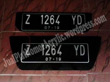 Plat Nomor Akrilik Led Honda Jazz Kirim Tasik - 0856.4355.2499